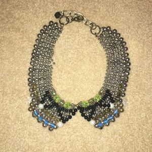 Anthropologie collar statement necklace